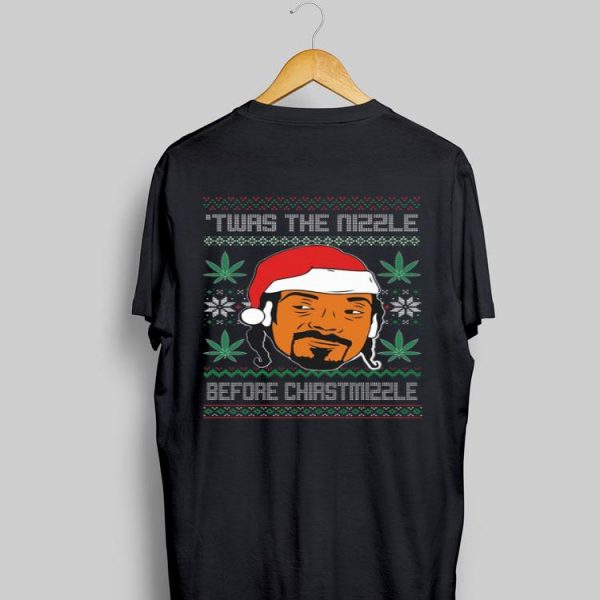 Snoop Dogg Weed Twas The Nizzle Before Christmizzle Ugly Christmas sweater