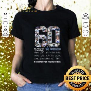 Top 60 Years Of Dallas Cowboys 1960-2020 signatures shirt