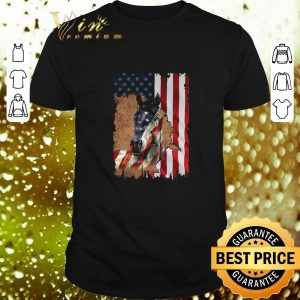 Top American flag Horse 4th of july independence day shirt