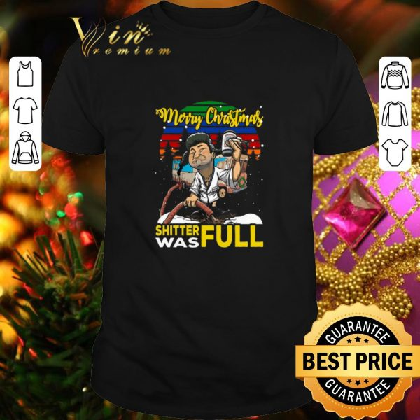 Top Cousin Eddie merry Christmas shitter was full shirt