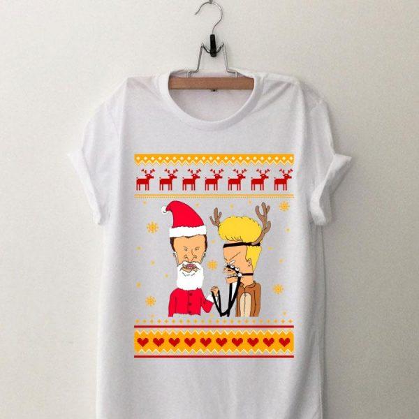 Ugly Christmas Beavis And Butthead shirt