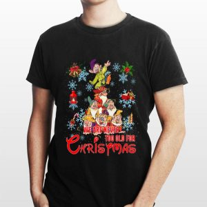 We are never too old for Christmas Grumpy characters shirt
