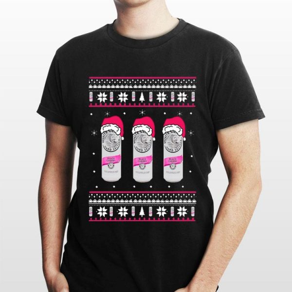White Claw Black Cherry Ugly Christmas Sweater