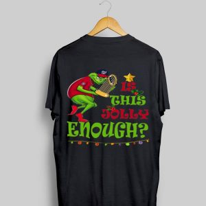 is this jolly enough Grinch Washington's Champs shirt