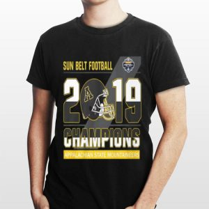 Appalachian State Mountaineers sun belt football champions sweater