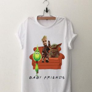 Baby Grinch Groot Yoda Baby Friends shirt