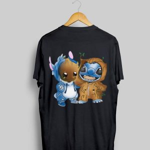 Baby Groot And Stitch shirt