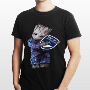 Baby Groot hug Girondins de Bordeaux sweater