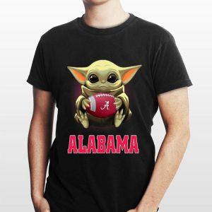 Baby Yoda Alabama Crimson Tide football shirt