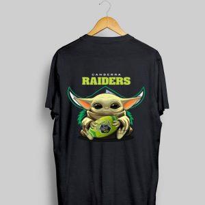 Baby Yoda Canberra Raiders shirt