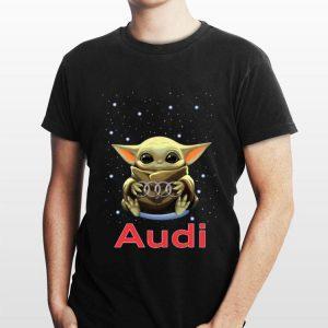 Baby Yoda Hug Audi shirt
