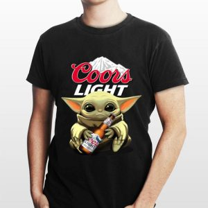 Baby Yoda Hug Coors Light shirt