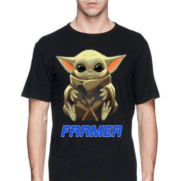 Baby Yoda Hug Farmer shirt