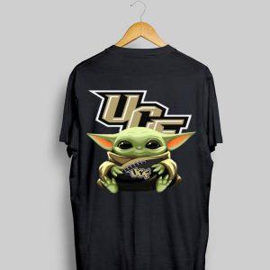 Baby Yoda Hug UCF Knights shirt