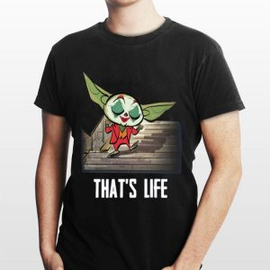 Baby Yoda Joker Dancing That's Life sweater