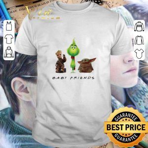 Hot Baby Friends Baby Yoda Baby Grinch And Baby Groot shirt