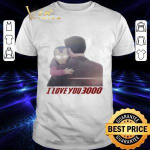 Hot Iron Man Morgan Stark I Love You 3000 shirt