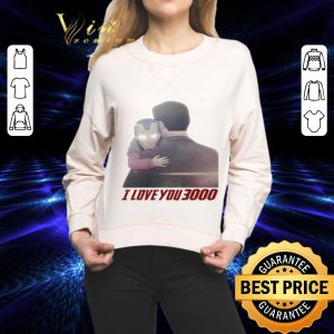 Hot Iron Man Morgan Stark I Love You 3000 shirt