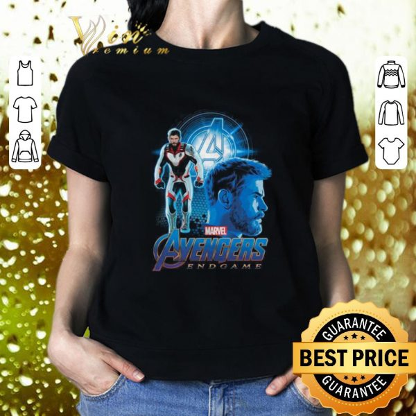 Hot Marvel Avengers Endgame Thor Suit uniform shirt