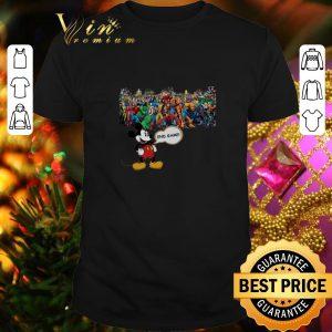 Hot Walt Disney Mickey Mouse Avengers Endgame shirt