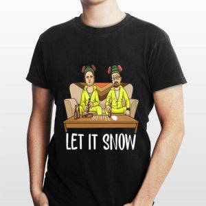 Jesse Pinkman Walter White Let It Snow shirt
