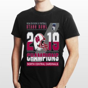 NCAA Division III football Stagg Bowl 2019 Champions North Central Cardinals shirt