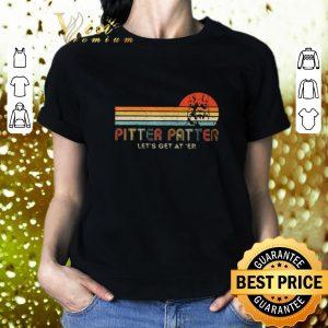 Original Pitter Patter Let's Get At Er Vintage German Shepherd shirt 1