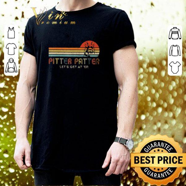 Original Pitter Patter Let's Get At Er Vintage German Shepherd shirt