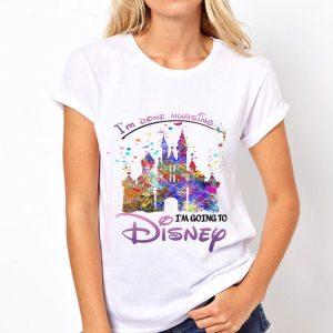 To Done Nursing I'm Going To Disney shirt