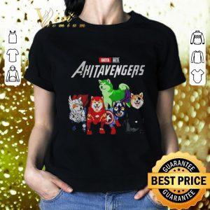 Top Akita Akitavengers Marvel Avengers Endgame shirt
