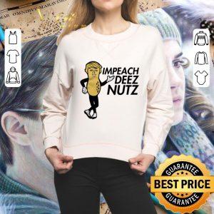 Top Peanut Trump impeach Deez nutz shirt