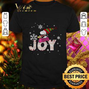 Top Snoopy Joy Woodstock Peanuts Christmas shirt