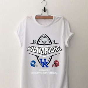 2019 Belk Bowl Champions Kentucky Wildcat vs Virginia Tech Hokies shirt