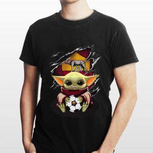 Baby Yoda Blood Inside As Roma shirt