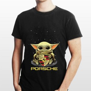 Baby Yoda Hug Porsche shirt