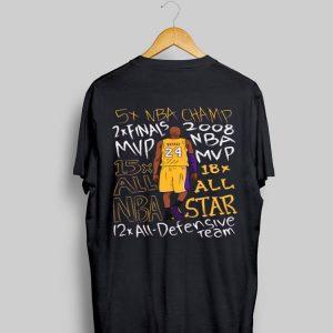 Kobe Bryant 5 Nba Champ 2 Final Mvp shirt