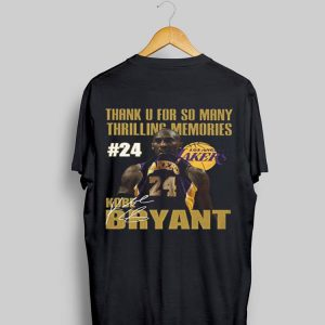 Los Angeles Lakers Kobe Bryant #24 shirt