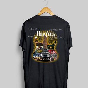 Signatures The Beatles Guitarist shirt
