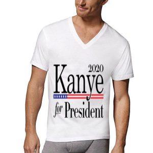 2020 Kanye For President American Flag shirt