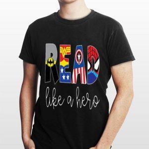 Avenger Read Like A Hero shirt