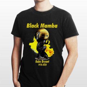 Black Mamba Kobe Bryant 1978-2020 Nike shirt