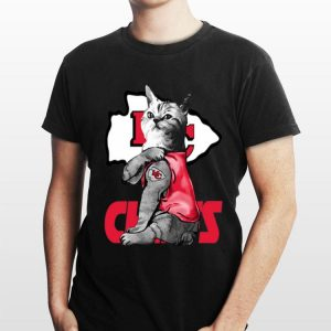 Cat Tattoos Kansas City Chiefs shirt