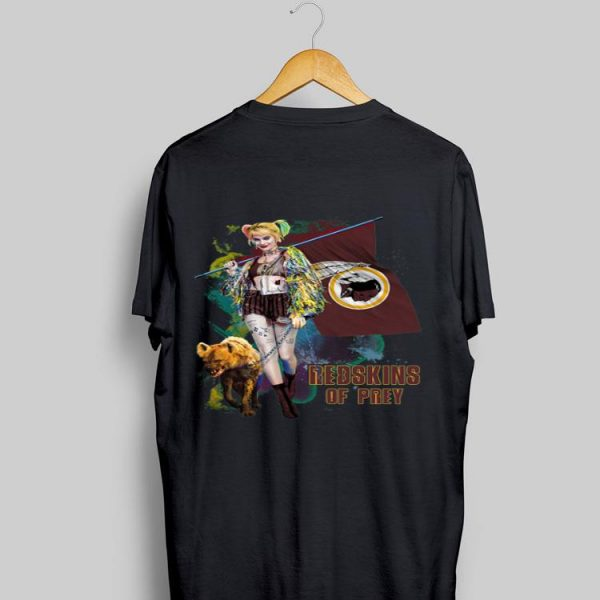 Harley Quinn San Washington Redskins Of Prey shirt