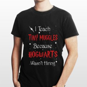 Harry Potter I Teach Tiny Muggles Because Hogwarts Wasn't Hiring shirt