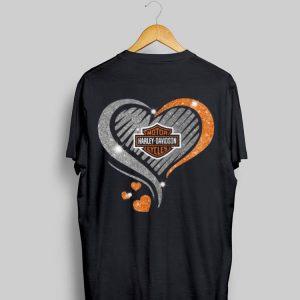 Heart Diamond Motor Harley Davidson Cycles shirt