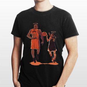 Histoire Kobe et Gigi Kobe Bryant shirt