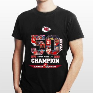 Kansas City 50 Years Super Bowl LIV Champions 1970 2020 shirt