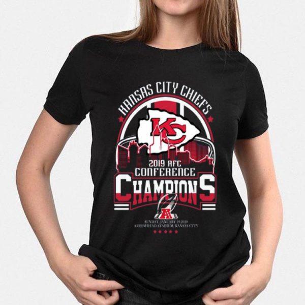 Kansas city Chiefs 2019 AFc Conference Champions shirt