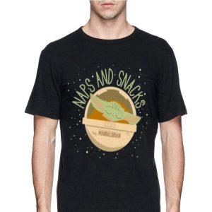 Naps And Snacks Baby Yoda shirt