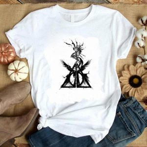 Original Harry Potter Deathly Hallows Fire phoenix shirt